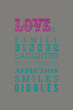What Love Is... Posters par Sasha Blake
