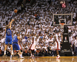 Dallas Mavericks v Miami Heat - Game Two, Miami, FL - JUNE 02: Dirk Nowitzki Photographic Print by Ronald Martinez