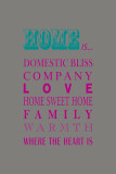 What Home Is... Affiches par Sasha Blake