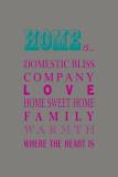What Home Is... Prints by Sasha Blake