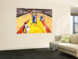 Dallas Mavericks v Miami Heat - Game Two, Miami, FL - JUNE 2: Jason Kidd and Joel Anthony Wall Mural by Jesse D. Garrabrant