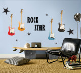 Rock Star - Boy Wall Decal