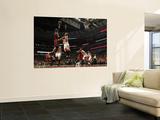 Miami Heat v Chicago Bulls - Game Five, Chicago, IL - MAY 26: Chris Bosh and Taj Gibson Wall Mural by Jonathan Daniel