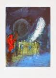 The Acropolis Plakater af Marc Chagall