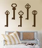 Brown Keys Adhésif mural