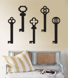 Black Keys Wall Decal