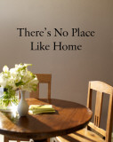 There's No Place Like Home (sticker murale) Decalcomania da muro