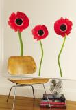 Rode rozen Muursticker