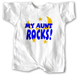 Infant: My Aunt Rocks Infant Onesie