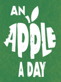 An Apple a Day Prints by Clara Wells