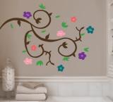 Floral Branch Autocollant mural