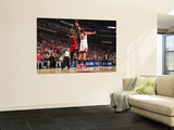 Miami Heat v Chicago Bulls - Game Five, Chicago, IL - MAY 26: Chris Bosh and Joakim Noah Wall Mural by Nathaniel S. Butler