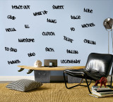 Teen Words - Boy Autocollant mural