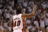 Dallas Mavericks v Miami Heat - Game Two, Miami, FL - JUNE 02: Udonis Haslem Photographic Print by Ronald Martinez