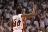 Dallas Mavericks v Miami Heat - Game Two, Miami, FL - JUNE 02: Udonis Haslem Photographic Print by Ronald Martinez