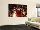 Miami Heat v Chicago Bulls - Game Five, Chicago, IL - MAY 26: Chris Bosh Wall Mural by Jonathan Daniel