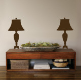 Brown Victorian Lamps Autocollant mural