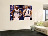 Oklahoma City Thunder v Dallas Mavericks - Game Five, Dallas, TX - MAY 25: Jason Terry and Jason Ki Wall Mural by Tom Pennington