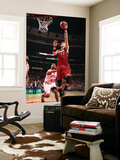 Miami Heat v Chicago Bulls - Game Five, Chicago, IL - MAY 26: Mike Miller and Kurt Thomas Wall Mural by Nathaniel S. Butler