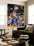 Dallas Mavericks v Miami Heat - Game One, Miami, FL - MAY 31: Chris Bosh, Peja Stojakovic and Brend Wall Mural by Mike Ehrmann