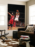 Miami Heat v Chicago Bulls - Game Five, Chicago, IL - MAY 26: Derrick Rose and Mike Bibby Wall Mural by Nathaniel S. Butler