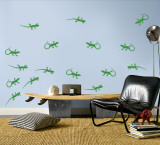 Green Lizards Wall Decal