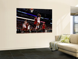 Miami Heat v Chicago Bulls - Game Five, Chicago, IL - MAY 26: C.J. Watson and Chris Bosh Wall Mural by Mike Ehrmann