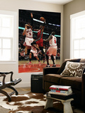 Miami Heat v Chicago Bulls - Game Five, Chicago, IL - MAY 26: Chris Bosh, Carlos Boozer and Luol De Wall Mural by Mike Ehrmann