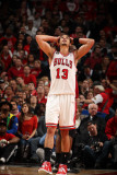 Miami Heat v Chicago Bulls - Game Five, Chicago, IL - MAY 26: Joakim Noah Photographic Print by Nathaniel S. Butler