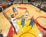 Dallas Mavericks v Miami Heat - Game Two, Miami, FL - JUNE 02: LeBron James Photographie par Nathaniel S. Butler