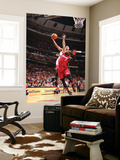 Miami Heat v Chicago Bulls - Game Five, Chicago, IL - MAY 26: Derrick Rose and Dwyane Wade Wall Mural by Nathaniel S. Butler