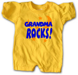 Infant: Grandma Rocks Shirts