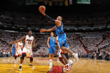 Dallas Mavericks v Miami Heat - Game Two, Miami, FL - JUNE 02: Shawn Marion and Joel Anthony Lámina fotográfica por Nathaniel S. Butler