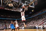 Dallas Mavericks v Miami Heat - Game Two, Miami, FL - JUNE 2: Dwyane Wade Photographic Print by Jesse D. Garrabrant