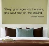 Eyes on the Stars - Theodore Roosevelt Kalkomania ścienna