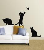 Koty Kalkomania ścienna