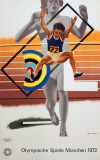 Munich Olympics Collectable Print by Peter Phillips
