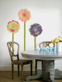 Gerberas with Stems Muursticker