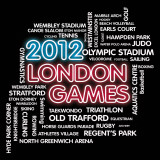 London Games Affiches par Tom Frazier