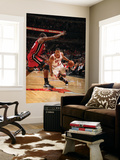Miami Heat v Chicago Bulls - Game Five, Chicago, IL - MAY 26: Derrick Rose and Joel Anthony Wall Mural by Nathaniel S. Butler