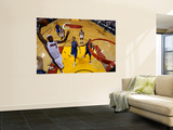 Dallas Mavericks v Miami Heat - Game Two, Miami, FL - JUNE 02: LeBron James Wall Mural