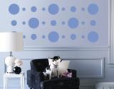 Blue Circles Adhésif mural