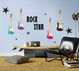 Rock Star - Girl wandtattoos