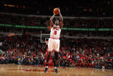 Miami Heat v Chicago Bulls - Game Five, Chicago, IL - MAY 26: Luol Deng Photographic Print by Nathaniel S. Butler