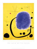 The Gold of the Azure, 1967 Poster by Joan Miró