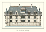 Chateau d'Azay-le-Rideau, Loire Prints