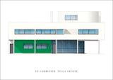Le Corbusier - Villa Savoye, Paris - Reprodüksiyon