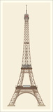 Paris, Tour Eiffel, Paris Posters by Alexandre-Gustave Eiffel