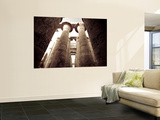 Egypt, Luxor, Karnak, Temple of Amun, Great Hypostyle Hall Wall Mural by Michele Falzone