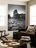 Colosseum and Via Sacra, Rome, Italy Wall Mural by Michele Falzone